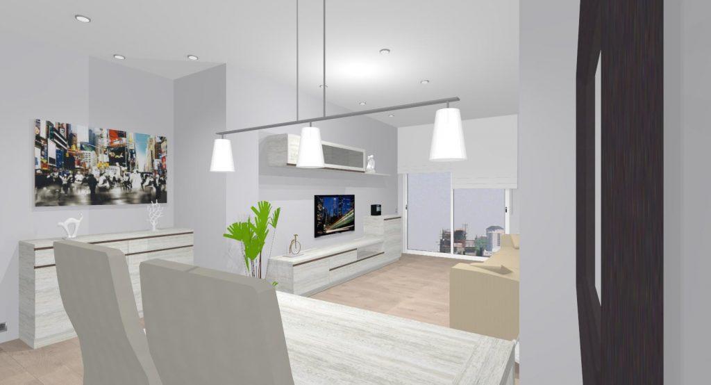 Proyecto mueble salon